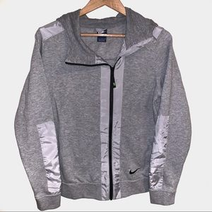 Nike Full Zip Up Hooded Sweatshirt Hoodie